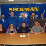Otto Pfneisel signs to play Football at Truman State