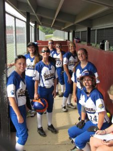 8/27/15 – JV softball vs Rockwood Summit