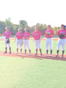 Softball 2015 PINK OUT and Random