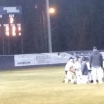 Baseball wins Season Opener with Big Comeback