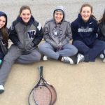 Girls Tennis sweeps Rabun Co.