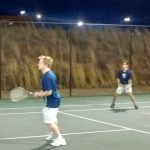 Boys Varsity Tennis beats East Jackson 5-0