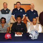 Tristian Hester signs to play football at Guilford College
