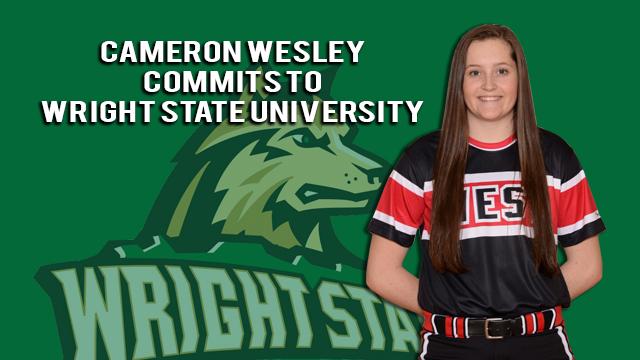Lakota West Softball: Cameron Wesley Commits to Wright State University!