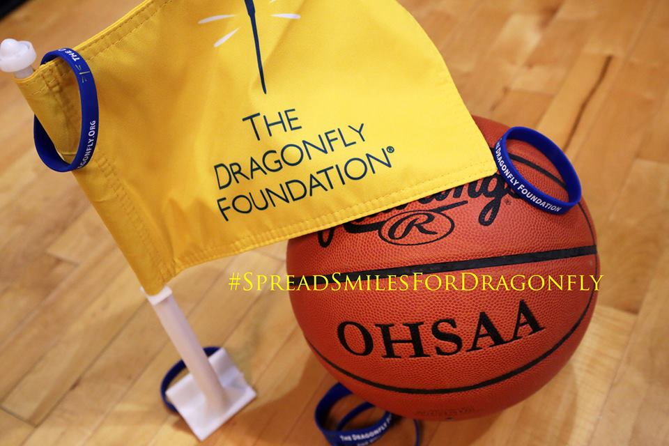 "Lakota West is holding its first annual ""Go Gold For Dragonfly"" Basketball game on February 2nd, 2018!"