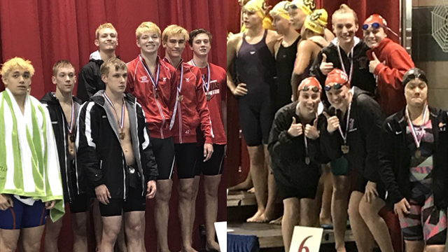 Lakota West Swimming: 11 Firebird swimmers, 6 boys and 5 girls have qualified for the State Final Swim Meet.