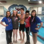 Tascosa High School Girls Varsity Swimming finishes 4th place