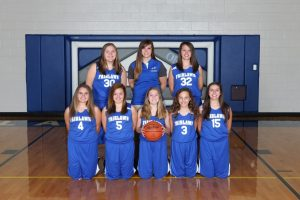 7th Grade Girls Basketball Team
