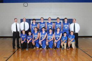 JV Boys Basketball Team