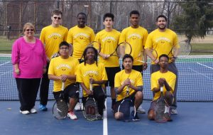 Cougar Boys' Tennis 2015