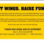 Eat wings and Support FHS Athletics