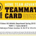 "FHS & BWW Kicks off spring fundraiser ""Home Team Advantage"""