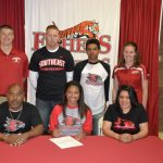 Adrianna Murphy is going to be a Redhawk
