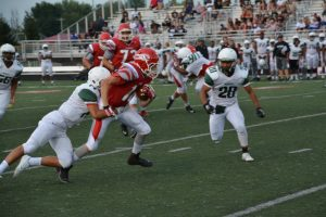FHS vs Lawrence North Scrimmage Aug 14 2015