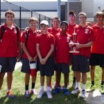 Fishers High School Boys Varsity Tennis beat Lawrence Central High School 5-0