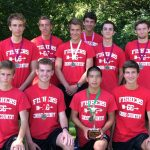 FHS Boys Varsity CC Finishes 1st Place @ Brebeuf Invite