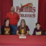Kylie Frazier Signs to play Lacrosse @CMU_Lacrosse