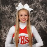Maddy Riesterer named @INPrincipals ICC Academic All-State Cheer