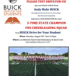 Test drive a Buick and support @fhs_tigercheer