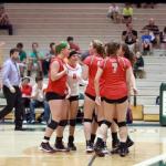 Varsity Volleyball beat Westfield 3-2