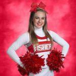 Alyssa Baker earns a spot on the 2016 IASP All-State Cheer Team