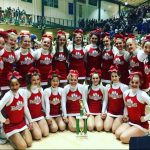 FHS JV Competitive Cheer team places 4th in the state!