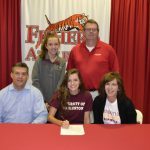 Janey Schmidt signs to play softball @ucwv_athletics