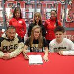 Alyssa Baker signs to cheer at Purdue @PurdueSports