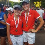 Fishers High School Girls Varsity Golf finishes 2nd place