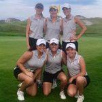 Fishers High School Girls Varsity Golf beat Center Grove High School 141-169