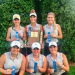 Girls Varsity Golf finishes 1st place