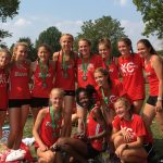 Girls Varsity Cross Country finishes 2nd place