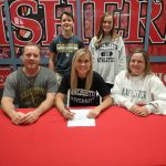 Mary McGuire signs to golf at Manchester @MUSpartans