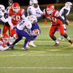 Fishers High School Varsity Football falls to Ben Davis High School 50-7