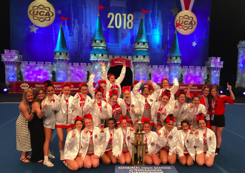 2018 UCA Varsity Large Division NATIONAL CHAMPIONS