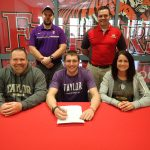 Teegan Heiniger signs to play lacrosse for Taylor University @taylortrojans
