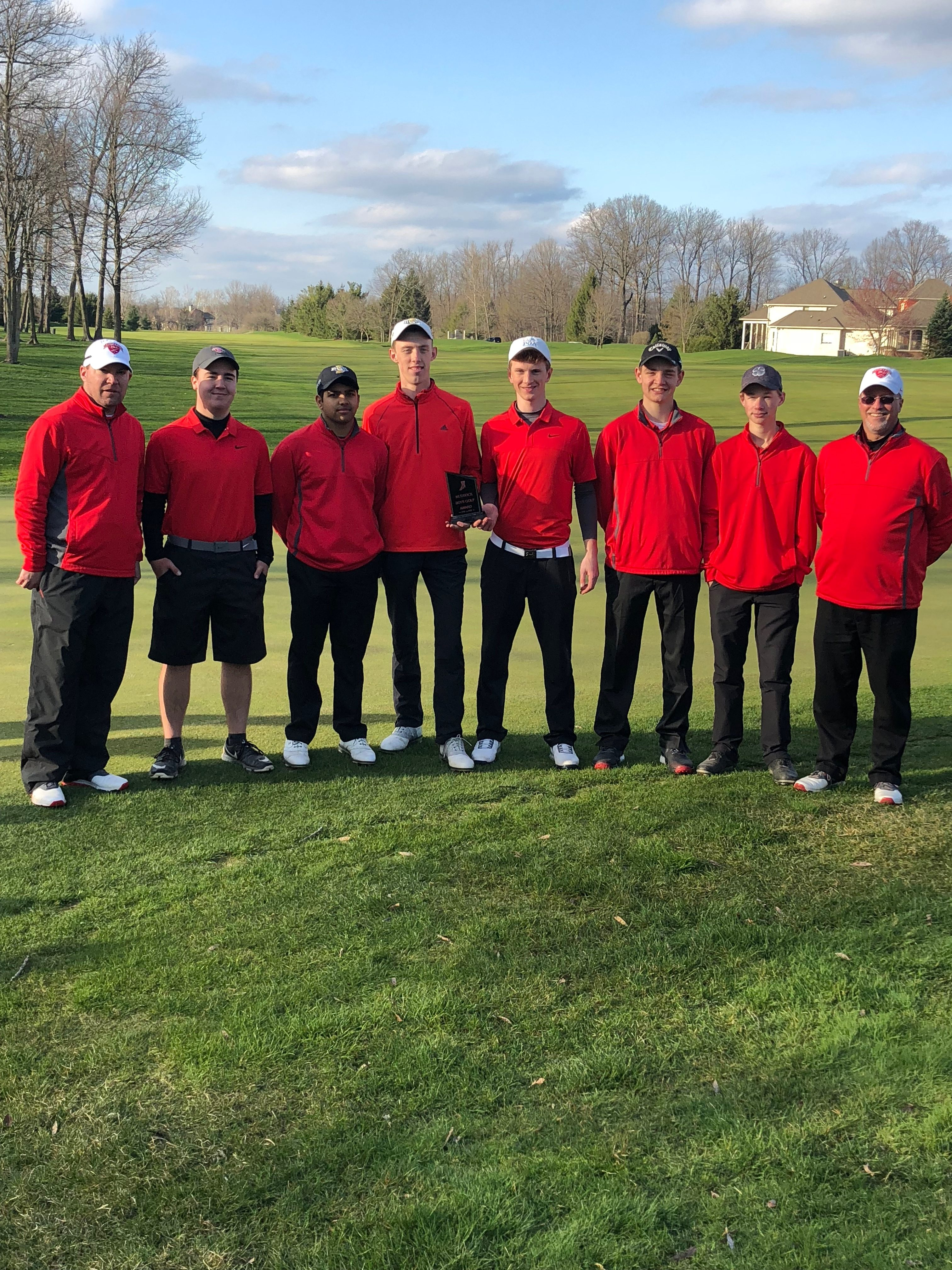 Fishers wins the Mudsock Golf Meet