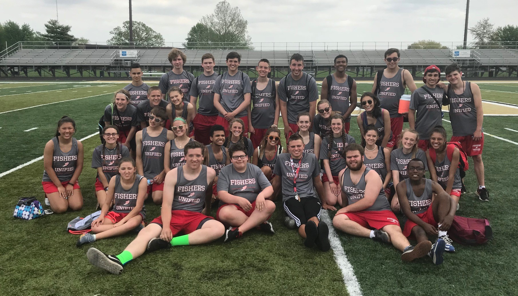 Unified Track finishes 2nd in HCC meet