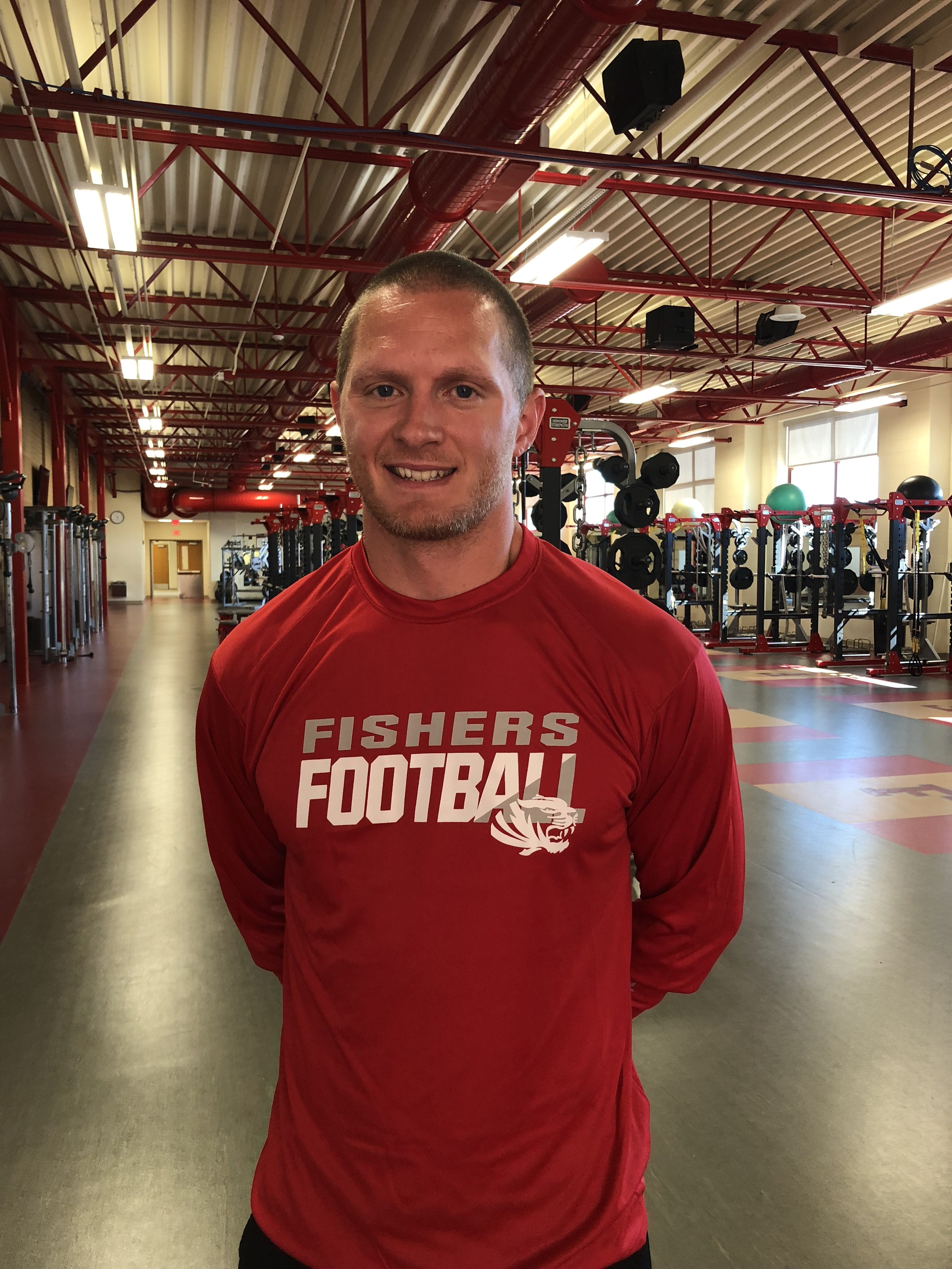 Fishers announces Josh Jones as Strength and Conditioning Coach