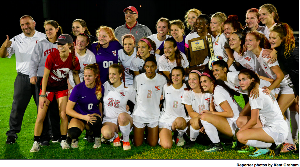 Fishers Lady Tigers Soccer captures IHSAA Championship