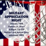 Tigers Basketball – Military Appreciation Night – FHS vs Avon – January 18th
