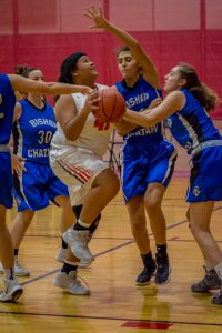 Photo Gallery: Girls Basketball, Fresh vs Bishop Chatard