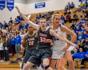 Photo Gallery: Girls Basketball, Varsity vs HSE