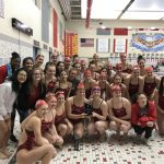 Fishers Girls Swimming & Diving Defeats Hamilton Southeastern 110-73