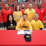 Roman Molden signs to play football at Marian University @MUKnights