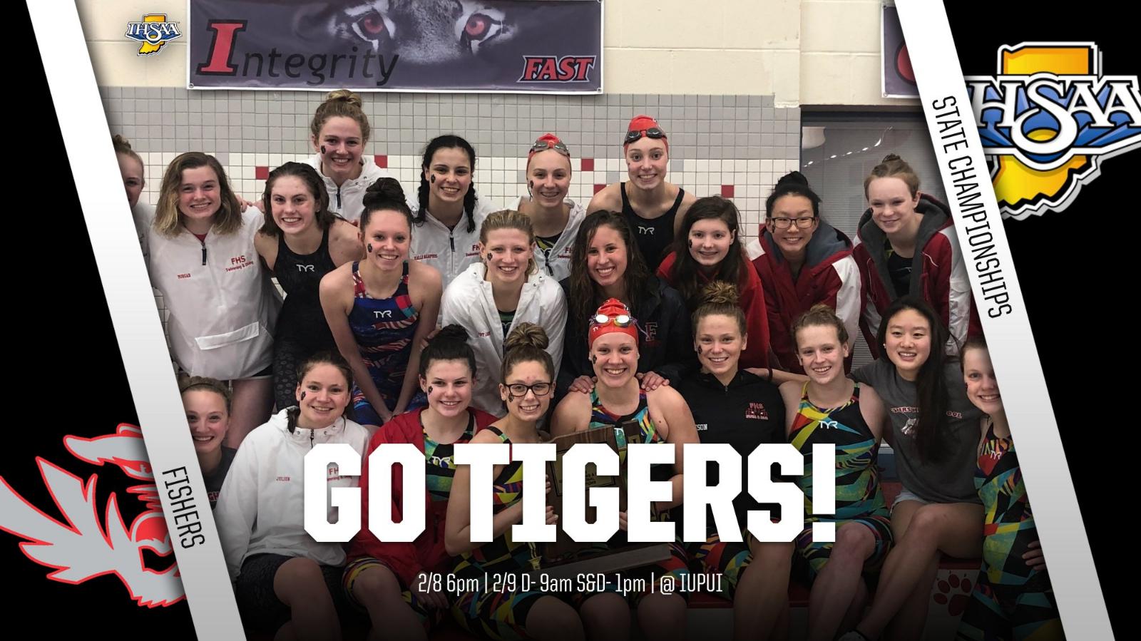 Lady Tigers Swim & Dive @IHSAA1 State Championship Info