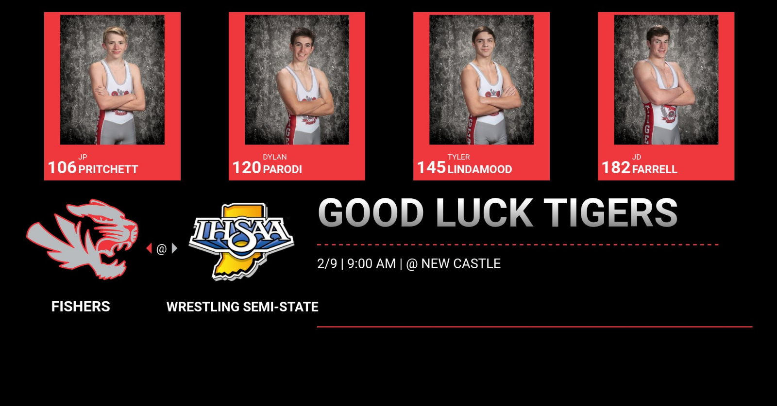 Wrestling @IHSAA1 Semi-State Information