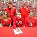 Cory Jacocks signs to swim at South Dakota @SDCoyotes