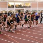 Boys Indoor Track Blue & White @ Anderson 3/2/2019