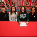 Audrey Haworth signs to play volleyball at Binghamton University @BU_Bearcats